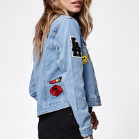 Young & Reckless Courtney Embroidered Denim Jacket at PacSun.com