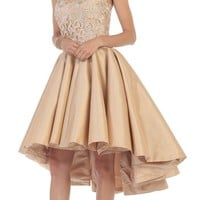 High Low Dresses Homecoming Prom Gown