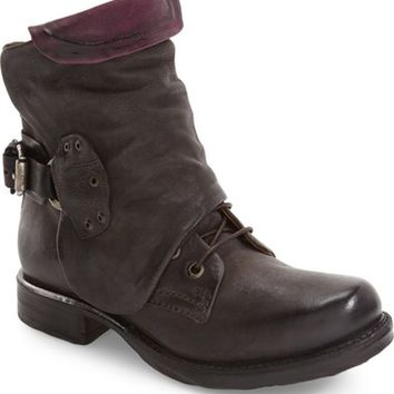A.S.98 Simon Slouchy Combat Boot (Women) | Nordstrom