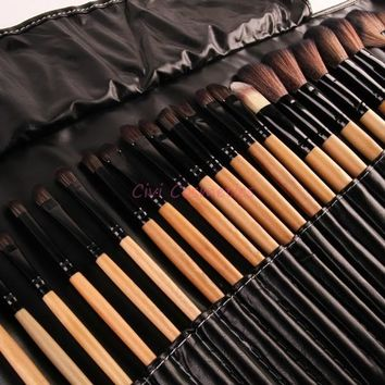 Stock Clearance !!! 32Pcs  Makeup Brushes Professional Cosmetic Make Up Brush Set The Best Quality! [8243963331]