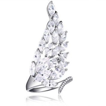 Angel Wing Ring - One Size