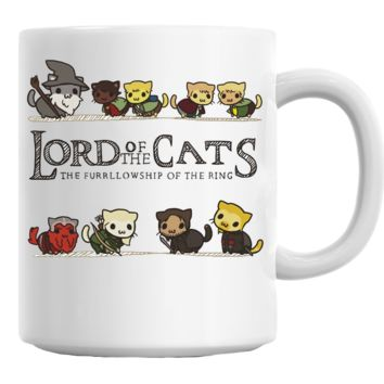 Lord of the Cats (Lord of the Rings) Mug