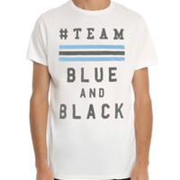 Team Blue And Black T-Shirt