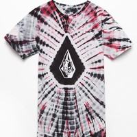 Volcom - Spitfire Dye Washed T-Shirt - Mens Tee - Black