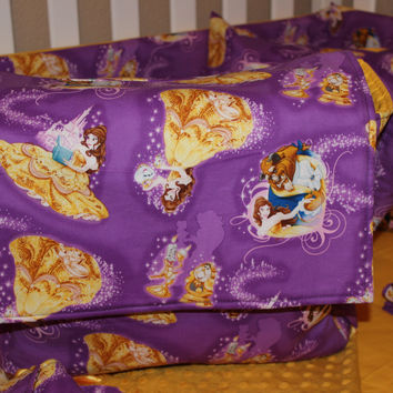 Beauty And The Beast Messenger Diaper Bag
