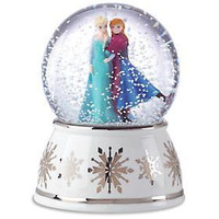 Lenox Elsa And Anna Musical Snowglobe