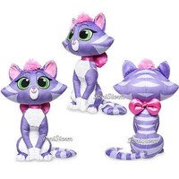 """Licensed cool Puppy Dog Pals 12"""" Hissy Kitty Cat Small Plush Feline Authentic Disney Store"""