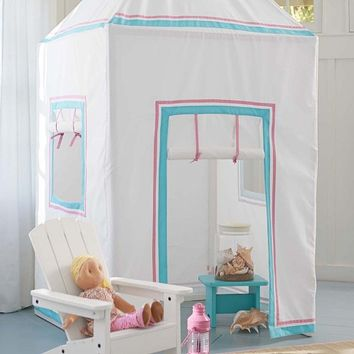 Preppy Playhouse | Pottery Barn Kids
