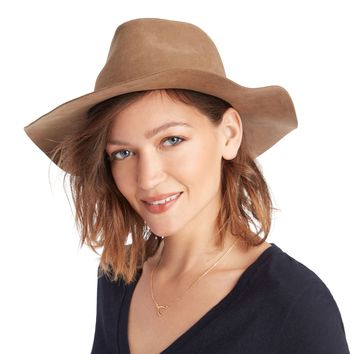 Sole Society Suedette Outback Hat