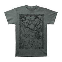 Sleeping With Sirens Men's  Ship T-shirt Grey
