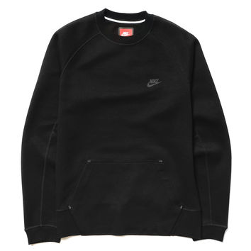 Tech Fleece Crew Black