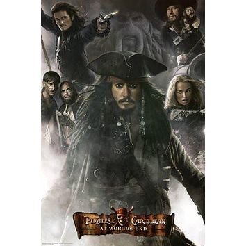 PIRATES OF THE CARIBBEAN POSTER At World's End 24X36
