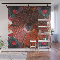 Mandy Web Wall Mural by deluxephotos