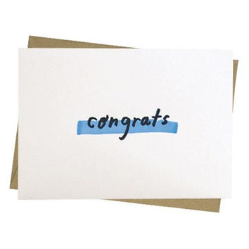 People I've Loved - Congrats Card