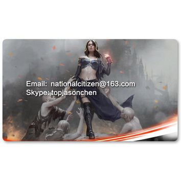 Many Playmat Choices - Liliana, Defiant Necromancer - MTG Board Game Mat Table Mat for Magical Mouse Mat the Gathering 60 x 35CM