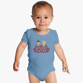 Beavis And Butthead Baby Onesuits
