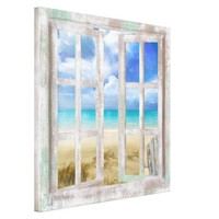 Beach in Open Window coastal cottage wrapped