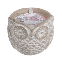 Sweet Grace Scented Stone Owl Candle