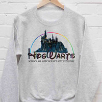 Hogwarts School Always sweatshirt cozy sweater for mens and womens heppy fit or sizing.