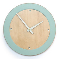 Modern Wall Clock - Choice of Color