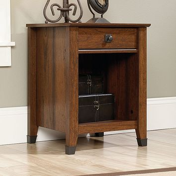 Sauder Carson Forge Collection Nightstand (Brown)