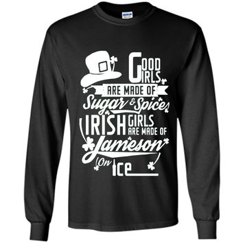 Good Irish Girls are Made of on Ice | Irish T-Shirt