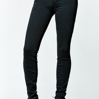 Bullhead Denim Co. Forest Green Mid Rise Skinniest Jeans - Womens Jeans - Forest Grn