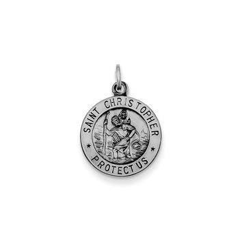 Sterling Silver St. Christopher Medal
