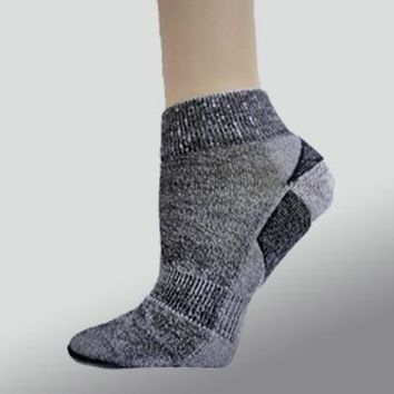 Organic Wool Socks - ankle height
