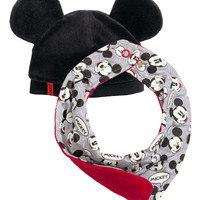 H&M - Hat and Scarf - Grey/Mickey Mouse - Kids