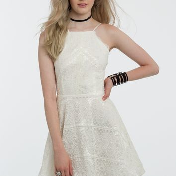 Lace Dress Hanky Hem Ribbon from Camille La Vie and Group USA