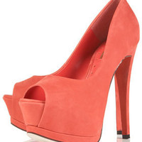 SERENADE High Peep Toe Platforms - Topshop USA