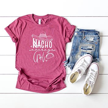 Nacho Average Girl Short Sleeve Graphic Tee