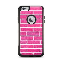 The Pink Brick Wall Apple iPhone 6 Plus Otterbox Commuter Case Skin Set