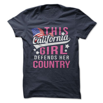 This California Girl Defends Her Country