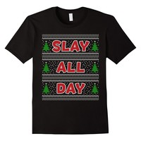 SLAY ALL DAY Ugly Sweater