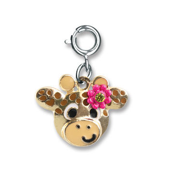 CHARM IT! Flower Giraffe Charm