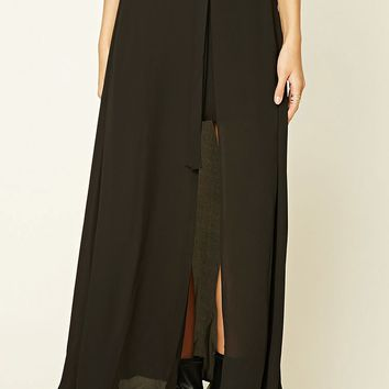 Contemporary Layer Maxi Skirt