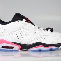 Air Jordan 6 VI Low GS Big Kid's Retro Infrared 23