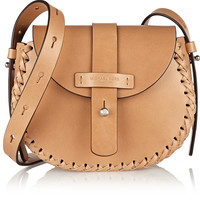 Michael Kors - Claire whipstitched leather shoulder bag