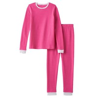 Cuddl Duds Thermal Long Underwear Set - Girls 4-16, Size: