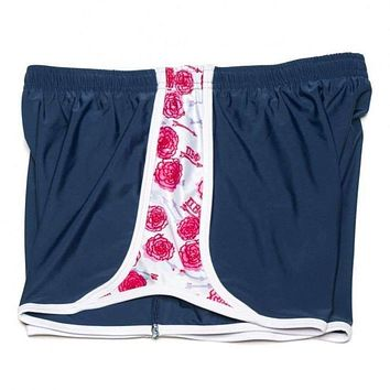 Pi Beta Phi Shorts in Navy Blue by Krass & Co.