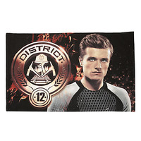 The Hunger Games: Catching Fire Peeta Finnick Pillow Case