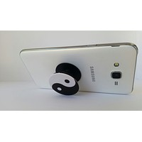 Pop Out Phone Grip and Stand,  Mobile Holder for your Phone & Tablet (Yin yang Symbol)