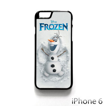 Disney Frozen Olaf Poster for Iphone 4/4S Iphone 5/5S/5C Iphone 6/6S/6S Plus/6 Plus Phone case