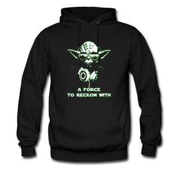 YodaDJ-A-Force-To-Reckon Hoodie | Spreadshirt