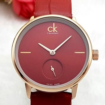 CK 2019 new women's simple and versatile fashion quartz watch 4