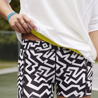 Without Walls Zigzag Print Crisscross Training Short - Urban Outfitters