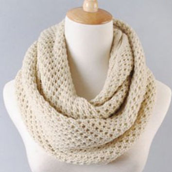 Knitted Woolen Scarf