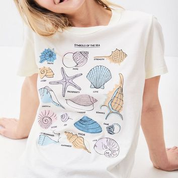 PS / LA Symbols Of The Sea T-Shirt | PacSun